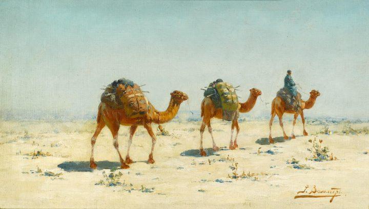 carovan nel deserto